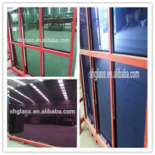 Green/Blue Building Glass/Purple Decorative Mirror /Price Mirror per Square Meter/8mm Plain Glass Facotry/Coated Peach Mirror