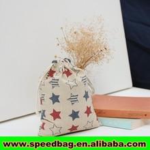 Customize logo burlap bag, gift jute pouchs burlap pouch Jute Drawstring Pouch