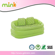 Best selling inflatable sofa couch chair camping caravan bedroom sofa lounge chair