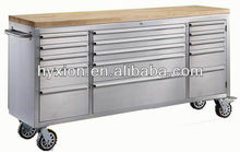 Thorkitchen 72-Inch 15 Drawer Top Tool Chest Stainless Steel Finish