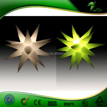 Inflatable Star With Color Changing Led Light / Inflatable Led Twinkle Light Star