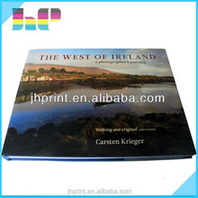 Beauty scenery /travelling top quality hardcover printing book