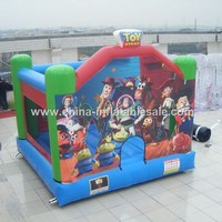 2015 New product eco friendly kids bouncer /residential inflatable bouncy castles