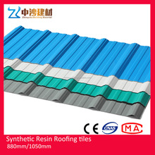 3 layer APVC anti-corrosion Roof Tile long life at least for 30 years