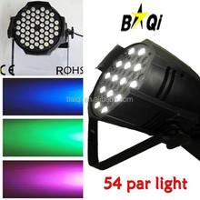 par led 64 rgbw 54 x 3 par led pro light charming led