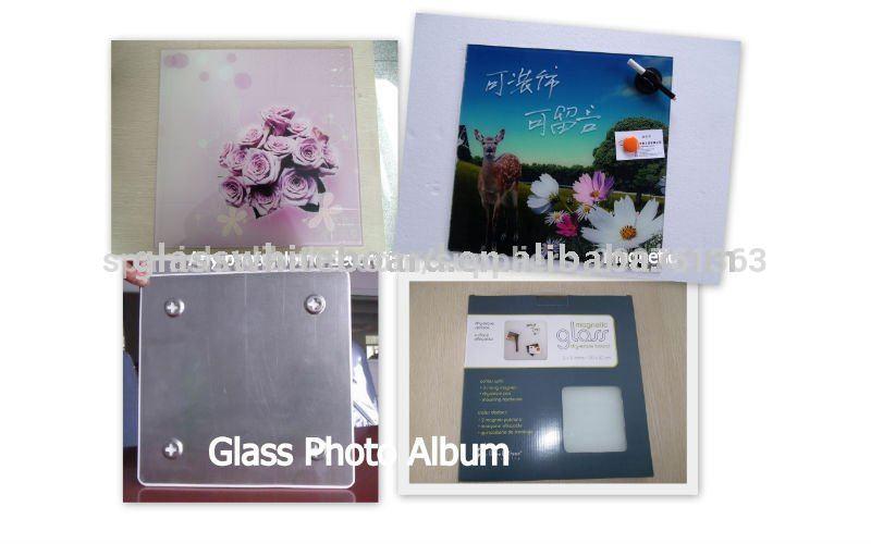 30*30cm de vidrio marco de fotos
