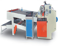 Corrugated cardboard making production line /Company supply CSM-80 computerized single corrugated sheet cutter & feeder