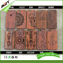 custom design durable handmade bamboo slim free sample phone case factory, for iPhone 6s plus 5.5 inch bamboo phone case