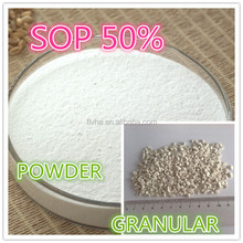 potassium sulphate(SOP) factory price SGS certificate used for agriculture
