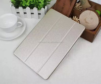 New Products With PC Transparent Case PU Leather Cover Case for iPad Air 2 Made in China