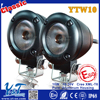 2015 High-grade Configuration 10w White Led Motor Motorcycle Accessories Low Strobe Light Driving Lamp