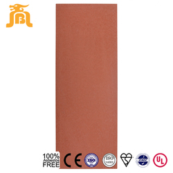 Outdoor installation type fiber cement board