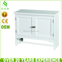 wholesale high quality bathroom wood 2 doors wall cabinet design