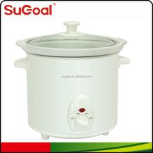 2015 SuGoal round slow cooker 3.0L/3.2Quart crock pot