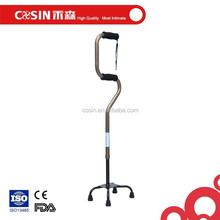 Quad Folding Aluminum Walking Sticks for Disabled Easy Walking