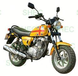 Motorcycle 250cc v-cylinder chopper