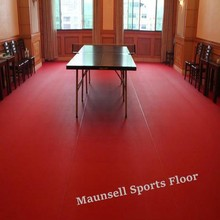 Sports Plastic/Pvc Flooring Used for Table tennis Court Games
