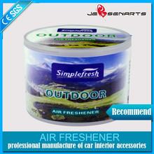 wholesale new design good scent custom car air freshener made in china feu orange car air freshener