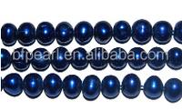 5-6mm dark blue potato natural freshwater pearl