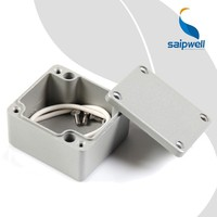 FA18 Saip/Saipwell Electrical Round Aluminum Box CE IP66 Waterproof Metal China Supplier Aluminum Enclosure Box