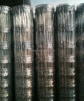 hot sale galvanized wire farm fence for cattle/horse/sheep