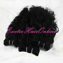 Exotichair 5 bundles remy hair top quality human hair weave