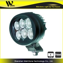 super bright 60W oval LED driving light for freight car