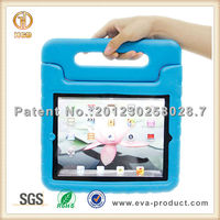 for ipad cover school children safe EVA case with stand handle