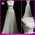 Sw321 A linha de um ombro bling cristal barato estilo africano vestidos de casamento