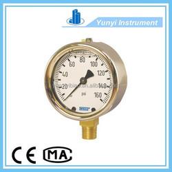 Pressure gauges /gage bourdon tube