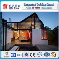 Factory price Modular modern prefab timber home