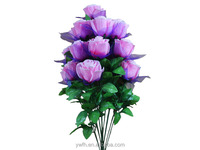 Wedding Rose Bouquent Decoration winding core Fabric Floral stage indoor ornament plants for dance ball