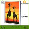 Aluminum exhibition Wholesale textile led light frame