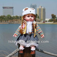2015 Self-produced self marketing Hot Sale Cute Candy Girl Talking baby doll toys