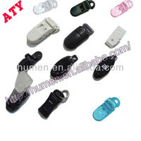 various design colored plastic clips for garment/clothing/book/bag