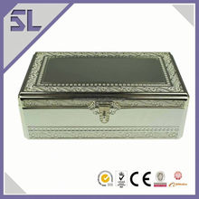 Lady'S Favorite Christmas Gifts Chinese Style Silver Jewelry Cases