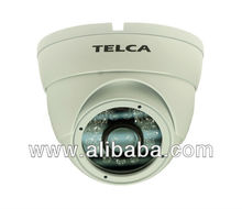 "1/3"" High Resolution CCD, 600 TV Lines IR Dome Camera"