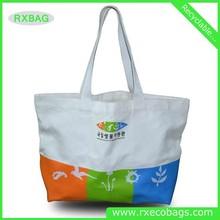 manufacture fashion cotton bag canvas shopping tote bag