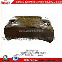 HIGH COST-EFFECTIVE REPAIRING AUTO METAL PARTS TRUNK LID HOT SELLING FOR SYLPHY 2012