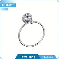 FUAO Contemporary wall mounted plastic towel ring