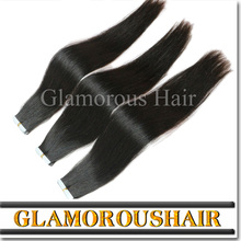 China Supplier 100% Brazilian invisible tape hair extensions