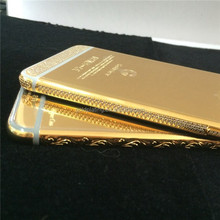 factory price for iphone 6 housing for iphone 6 plus 24k gold housing replacement with top quality
