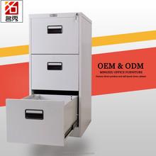 3 drawer file cabinet lock for steel furniture/ small steel master file cabinet under desk