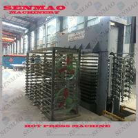 hydraulic hot press machine/film faced plywood hot press