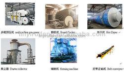 annual output 30000cbm-150000cbm MDF board equipment/complete mdf board woodworking machine/mdf board production line
