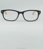 2015 New Type High Quality Low price wooden leg optical frames