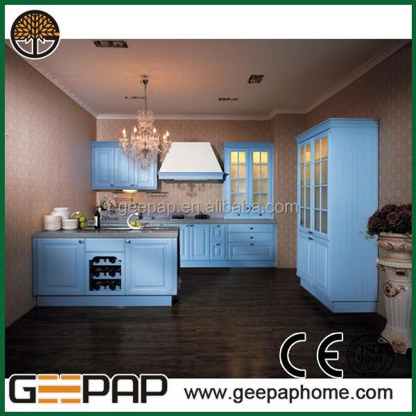 China Blue Lacquer Kitchen Cabinet Italian Kitchen Design  Buy