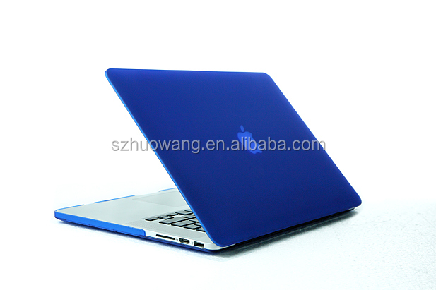 hard rubberized for macbook air case,matte for macbook pro case