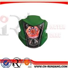 Racing Motorcycle Accessories LED Head Light Front Lamp Farol For Kawasaki Ninja ER 6N