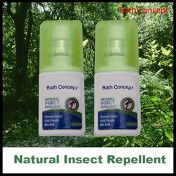 No Deet anti mosquito repellent spray